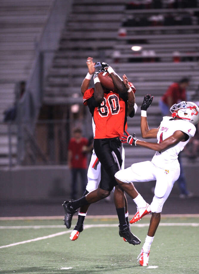Derrick Griffin , WRSchool: Terry HT: 6-6 WT: 215Committed to: Texas A&M, unsigned Photo: Eddy Matchette, For The Chronicle / Freelance