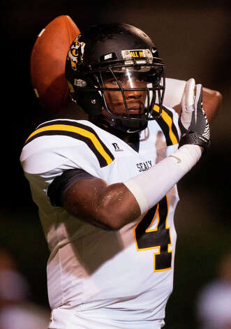 Ricky Seals-Jones , WRSchool: Sealy HT: 6-5 WT: 220 Signed to: Texas A&M  Photo: J. Patric Schneider, Houston Chronicle / © 2012 Houston Chronicle