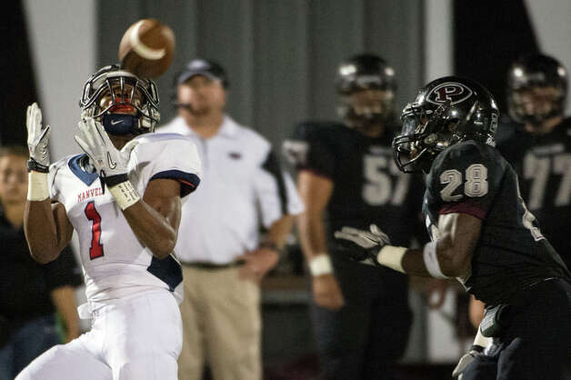 Carlos Thompson , WRSchool: Manvel HT: 5-9 WT: 175 Signed to: Texas Tech  Photo: Smiley N. Pool, Houston Chronicle / © 2012  Houston Chronicle