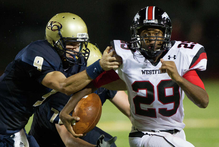 Ron Knowles , DBSchool: Westfield HT: 5-10 WT: 170 Committed to: Uncommitted Photo: Smiley N. Pool, Houston Chronicle / © 2012  Houston Chronicle