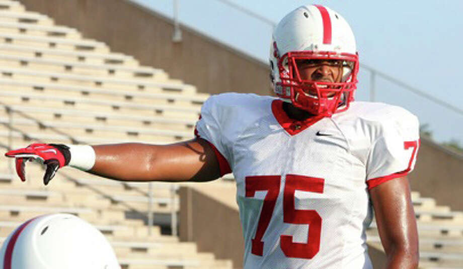 Dwayne Johnson, OLSchool: Bellaire HT: 6-6 WT: 275 Signed to: Nebraska Photo: Insight Photo's