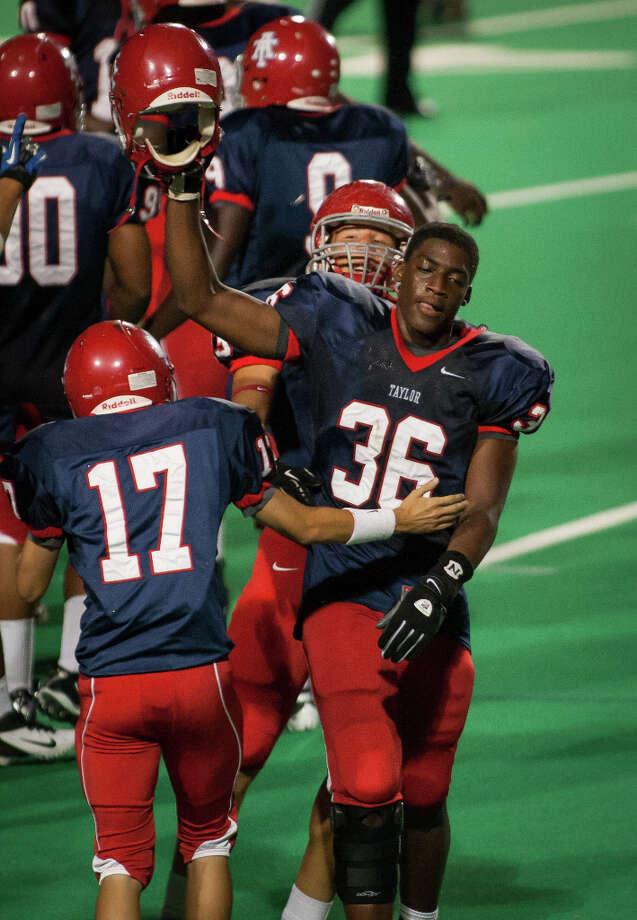 Duke Ejiofor, DLSchool: Alief TaylorHT: 6-3 WT: 220 Signed to: Rice Photo: Andrew Richardson, For The Chronicle / © 2012 Andrew Richardson