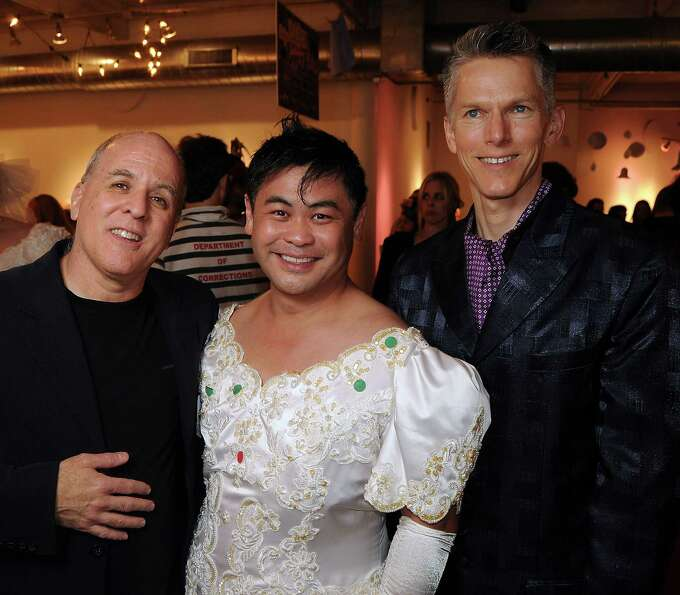 Honorees Rich Levy, Sixto Wagan and Matthew Dirst at the Fresh Arts