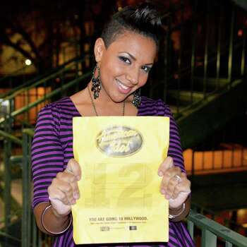 "Cristabel Clack, a single mom from San Antonio, made it to the top 20 female contestants in Season 12 of ""American Idol.""    Photo: Fox"