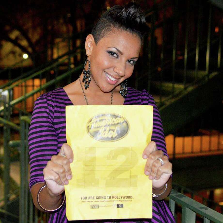 The second time was a charm for Cristabel Clack of San Antonio, who advanced to Hollywood on 'American Idol. Photo: Fox