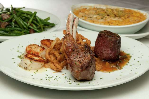 Fleming's Prime Steakhouse & Wine Bar, 255 E. Basse Road, 210-824-9463, is preparing a Valentine's celebration menu, $69.95, Feb. 14-17. Menu includes heirloom tomato and house-made burrata; citrus-marinated salmon tartar; and choice of roasted lobster tail or chateaubriand with crab glacage.  Photo: Patrick Bertolino, COURTESY PHOTO / 2009 peb