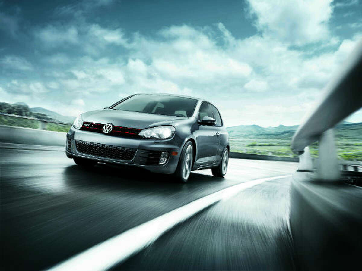 Volkswagen GTi 1.8 times more likely to get a ticket Make: Volkswagen Model: GTi Body Style: Hatchback Violations: 178 percent Average Age: 40 Percentage Male: 44 percent Source:Verisk Analytics