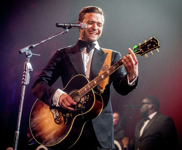 Justin Timberlake performs at DIRECTV Super Saturday Night Featuring Special Guest Justin Timberlake