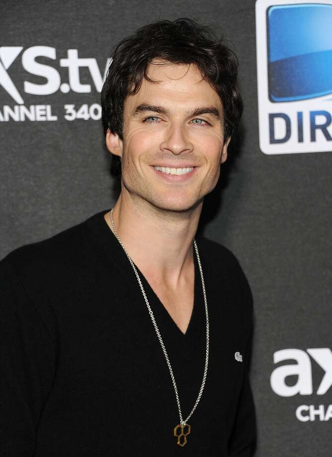 Actor Ian Somerhalder arrives at DirecTV's Super Saturday Night party on Saturday, Feb. 2, 2013 in New Orleans. (Photo: Evan Agostini/Invision/AP) Photo: Evan Agostini, Associated Press / Invision