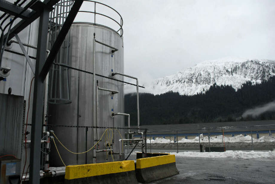 The outside of the Alaskan Brewing Co., which has installed a unique boiler system that burns the company's dried, spent grain or waste accumulated by the brewing process into steam which powers the majority of the plant's operations.