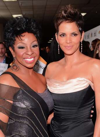 Singer Gladys Knight (L) and actress Halle Berry attend the 44th NAACP Image Awards at The Shrine Auditorium on February 1, 2013 in Los Angeles, California.  (Photo by Mark Davis/Getty Images for NAACP Image Awards) Photo: Mark Davis, (Credit Too Long, See Caption) / 2013 Getty Images