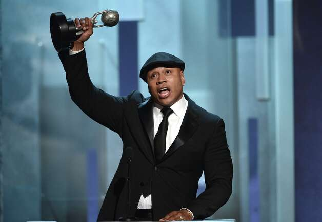 Actor LL Cool J accepts Outstanding Actor in a Drama Series for NCIS: Los Angeles onstage during the 44th NAACP Image Awards at The Shrine Auditorium on February 1, 2013 in Los Angeles, California.  (Photo by Kevin Winter/Getty Images for NAACP Image Awards) Photo: Kevin Winter, (Credit Too Long, See Caption) / 2013 Getty Images
