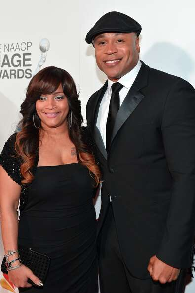 Simone I. Smith and LL Cool J attend the 44th NAACP Image Awards at The Shrine Auditorium on Februar
