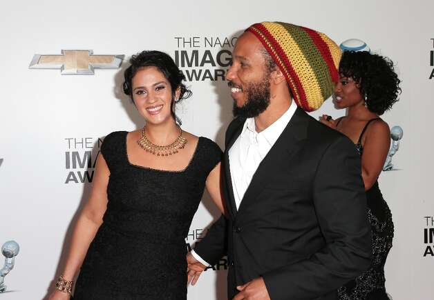 Singer Ziggy Marley (R) and wife Orly Marley attend the 44th NAACP Image Awards at The Shrine Auditorium on February 1, 2013 in Los Angeles, California.  (Photo by Frederick M. Brown/Getty Images for NAACP Image Awards) Photo: Frederick M. Brown, (Credit Too Long, See Caption) / 2013 Getty Images