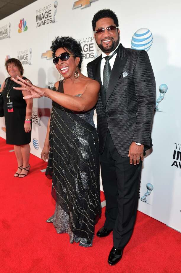 Singer Gladys Knight (L) and guest attend the 44th NAACP Image Awards at The Shrine Auditorium on February 1, 2013 in Los Angeles, California.  (Photo by Alberto E. Rodriguez/Getty Images for NAACP Image Awards) Photo: Alberto E. Rodriguez, (Credit Too Long, See Caption) / 2013 Getty Images