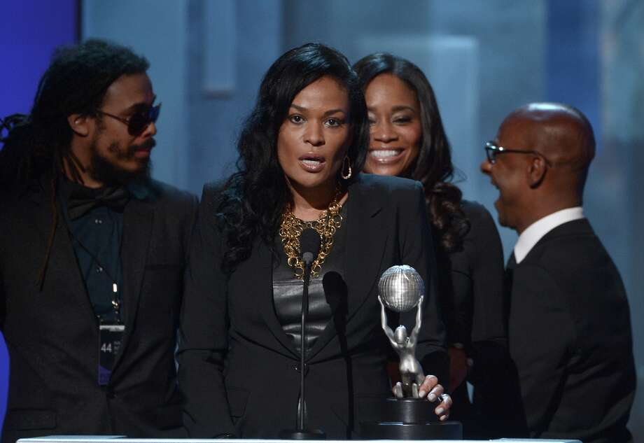 Producer Beverly Bond, winner of the Variety Series or Special Award for 'Black Girls Rock,' speaks onstage during the 44th NAACP Image Awards at The Shrine Auditorium on February 1, 2013 in Los Angeles, California.  (Photo by Kevin Winter/Getty Images for NAACP Image Awards) Photo: Kevin Winter, (Credit Too Long, See Caption) / 2013 Getty Images