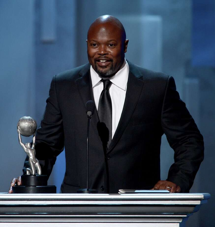 \Writer Cheo Hodari Coker accepts Writing in a Dramatic Series award for SouthLAnd onstage during the 44th NAACP Image Awards at The Shrine Auditorium on February 1, 2013 in Los Angeles, California.  (Photo by Kevin Winter/Getty Images for NAACP Image Awards) Photo: Kevin Winter, (Credit Too Long, See Caption) / 2013 Getty Images