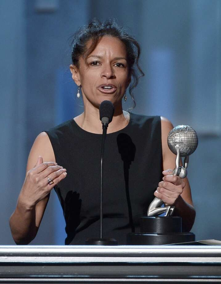 Writer Elizabeth Hunter onstage during the 44th NAACP Image Awards at The Shrine Auditorium on February 1, 2013 in Los Angeles, California.  (Photo by Kevin Winter/Getty Images for NAACP Image Awards) Photo: Kevin Winter, (Credit Too Long, See Caption) / 2013 Getty Images