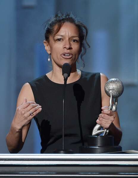Writer Elizabeth Hunter onstage during the 44th NAACP Image Awards at The Shrine Auditorium on Febru