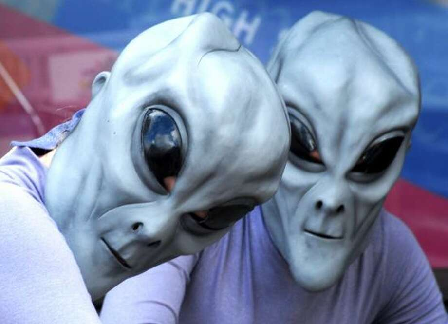 The government did it's best to assure over 12,000 people that there is not a conspiracy to hide information about alien life forms living among us. The government is not hiding proof of alien life either.(RESPONSE: DECLINED) Photo: Mark Wilson, AP