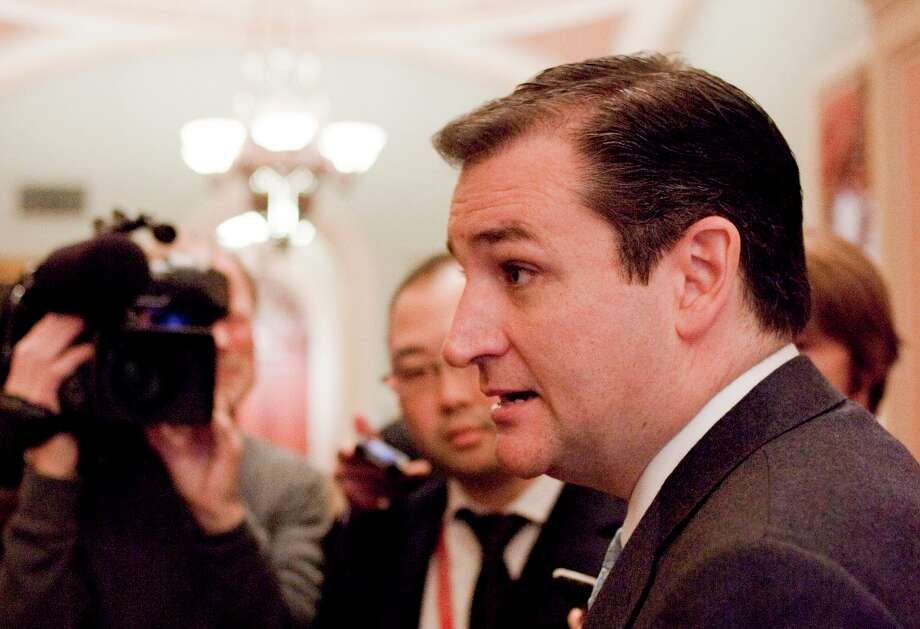 Sen.-elect Ted Cruz, R-Texas speaking to reporters on Capitol Hill in Washington. When the next Congress cranks up in January, there will be more women, many new faces and 11 fewer of the tea party-backed 2010 House GOP freshmen who sought re-election.  Overriding those changes, though, is a thinning of pragmatic, centrist veterans in both parties. Among those leaving are some of the Senate's most pragmatic lawmakers in both parties, nearly half the House's centrist Blue Dog Democrats and several moderate House Republicans. Photo: Harry Hamburg, Associated Press / FR170004 AP