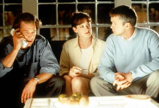 """A large portion of the film """"Arlington Road,"""" released in 1999, was filmed in the Houston area, especially Pearland and the University of Houston, which was the setting for George Washington University in the film. The movie families' """"DC-area homes"""" were actually in Pearland, near Dixie Farm Road. Photo: MICHAEL TACKETT, AP / LAKESHORE ENTERTAINMENT"""
