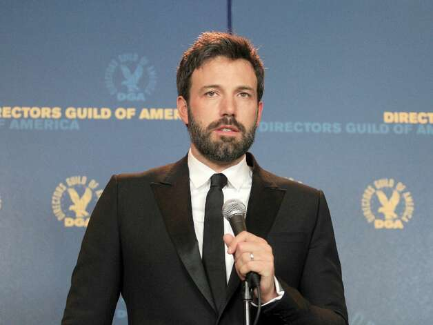 "Actor/director Ben Affleck, winner of the Outstanding Directorial Achievement in Feature Film for 2012 award for ""Argo,"" poses in the press room during the 65th Annual Directors Guild Of America Awards at Ray Dolby Ballroom at Hollywood & Highland on February 2, 2013 in Los Angeles, California. Photo: Frederick M. Brown, Getty Images / 2013 Getty Images"