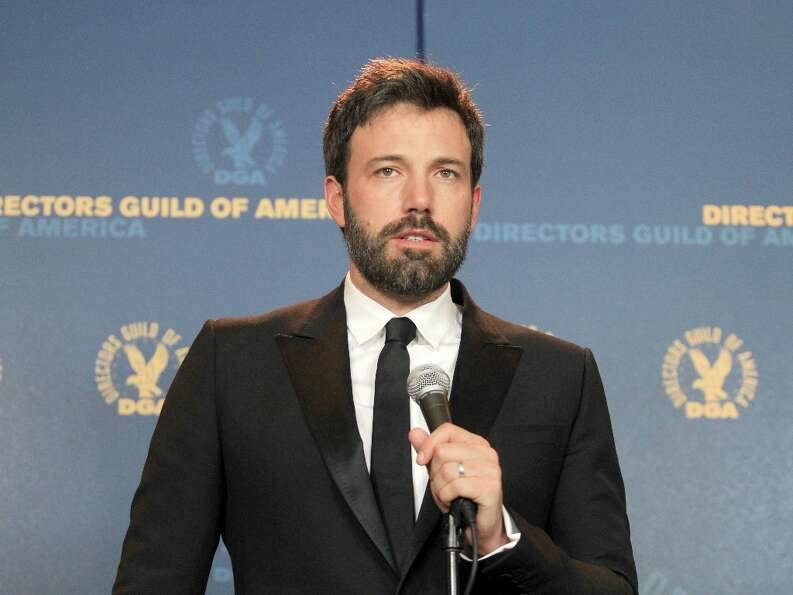 Actor/director Ben Affleck, winner of the Outstanding Directorial Achievement in Feature Film for 20