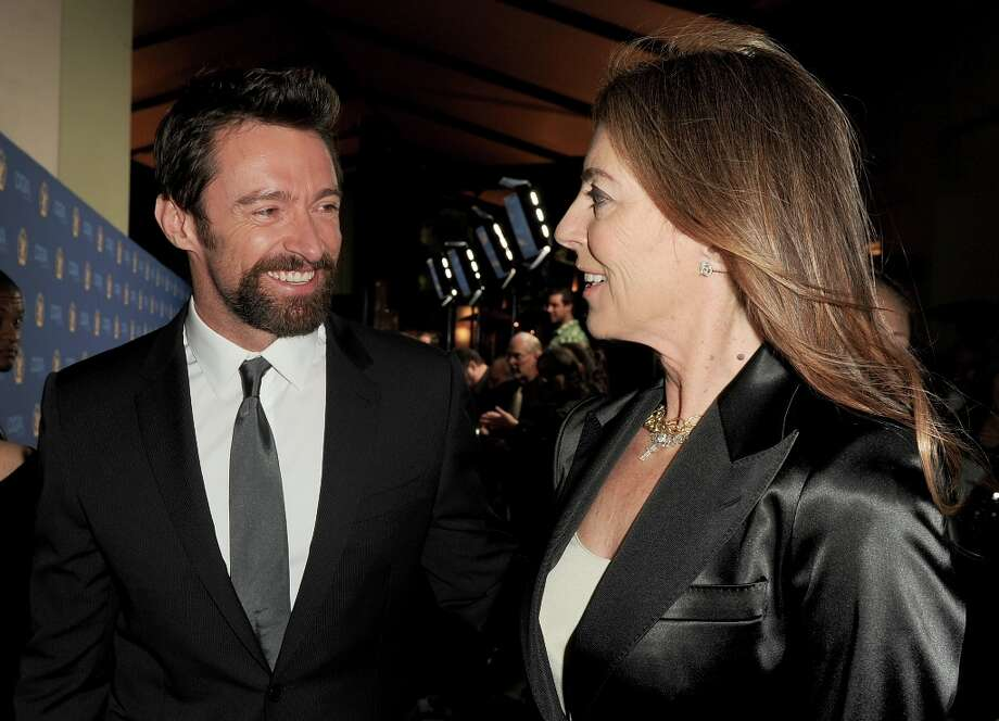 Actor Hugh Jackman (L) and director Kathryn Bigelow attend the 65th Annual Directors Guild Of America Awards at Ray Dolby Ballroom at Hollywood & Highland on February 2, 2013 in Los Angeles, California. Photo: Kevin Winter, Getty Images / 2013 Getty Images