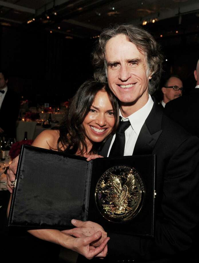 Musician Susanna Hoffs and director Jay Roach during the 65th Annual Directors Guild Of America Awards at Ray Dolby Ballroom at Hollywood & Highland on February 2, 2013 in Los Angeles, California. Photo: Kevin Winter, Getty Images / 2013 Getty Images