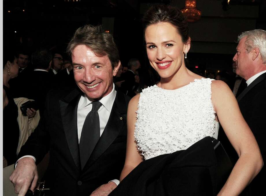 Actors Martin Short and Jennifer Garner during the 65th Annual Directors Guild Of America Awards at Ray Dolby Ballroom at Hollywood & Highland on February 2, 2013 in Los Angeles, California. Photo: Kevin Winter, Getty Images / 2013 Getty Images
