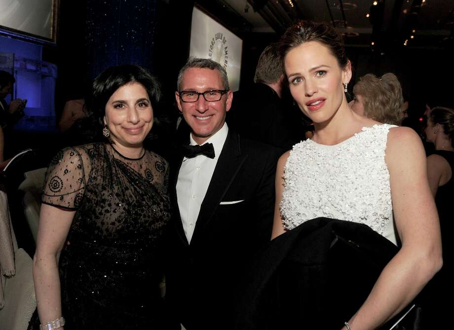 (L-R) Warner Bros. Pictures President of Worldwide Marketing Sue Kroll, director Adam Shankman and actress Jennifer Garner during the 65th Annual Directors Guild Of America Awards at Ray Dolby Ballroom at Hollywood & Highland on February 2, 2013 in Los Angeles, California. Photo: Kevin Winter, Getty Images / 2013 Getty Images