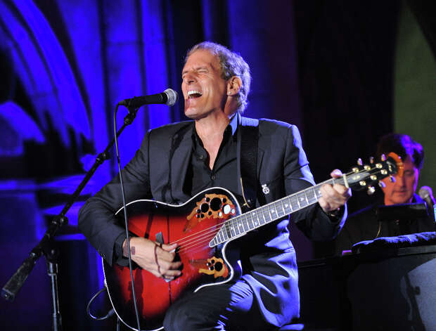 LONDON - AUGUST 5:   Michael Bolton performs live at the FitFlop Shooting Stars Benefit Closing Ball following a two-day golf tournament raising vital funds for Make-A-Wish Foundation UK at the Royal Courts of Justice on August 5, 2011 in London, England. Photo: Samir Hussein / 2011 Getty Images