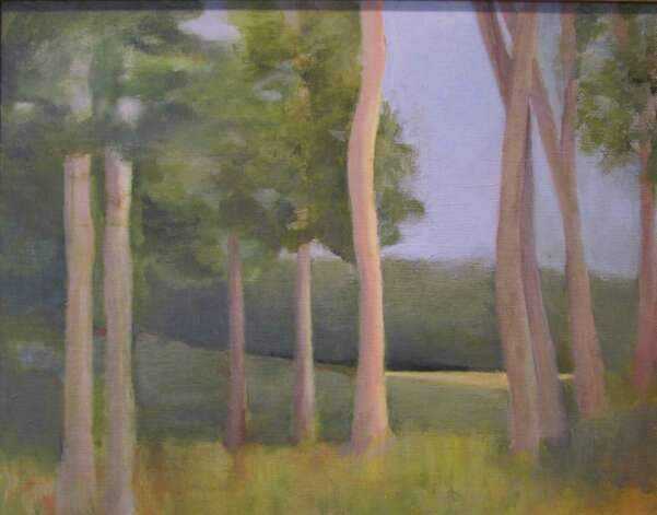 "New Canaan artist Suzanne Wright won first place in the acrylics category for 'Expressions 2013,"" a juried exhibition at the Rowayton Arts Center. Photo: Contributed"