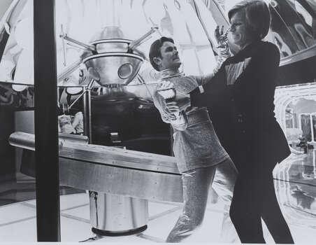 """A portion of the 1976 sci-fi movie """"Logan's Run"""" was filmed inside the Hyatt Regency Hotel on Louisiana. Photo: Handout"""