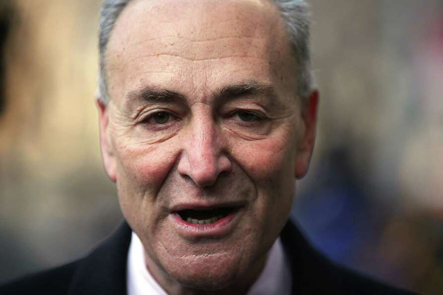 NEW YORK, NY - FEBRUARY 04:  U.S. Sen. Chuck Schumer (D-NY) attends funeral services for former New