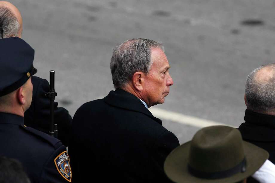 NEW YORK, NY - FEBRUARY 04:  New York City Mayor Michael Bloomberg attends funeral services for former New York City Mayor Ed Koch at Manhattan's Temple Emanu-El on February 4, 2013 in New York City.The iconic former New York mayor passed away on February 1, 2013 in New York City at age 88. Ed Koch was New York's 105th mayor and ran the city from 1978-89. He was often outspoken and combative and has been credited with rescuing the city from near-financial ruin during a three-term City Hall run. Photo: Spencer Platt, Getty Images / 2013 Getty Images