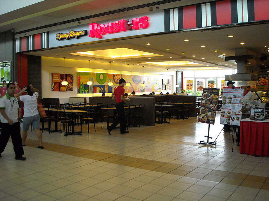 The company expanded to more than 1,000 outlets before closing most of them and filing for bankruptcy in 1998. Nathan's Famous Inc. bought the restaurants and was then itself bought by Malaysia's Berjaya Corp. in 2008. The last remaining U.S. Kenny Rogers Roasters is in Ontario, Calif. The rest are in Asia, including this one in the Philippines. Photo: FoxLad/Wikimedia Commons