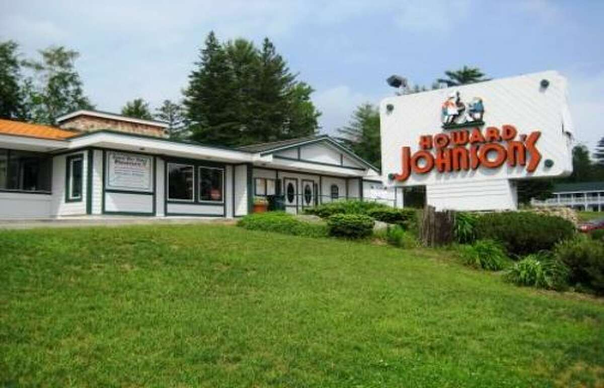 There are reportedly just two Howard Johnson's Restaurants left: in Lake Placid, N.Y. (shown here) and Bangor, Maine.