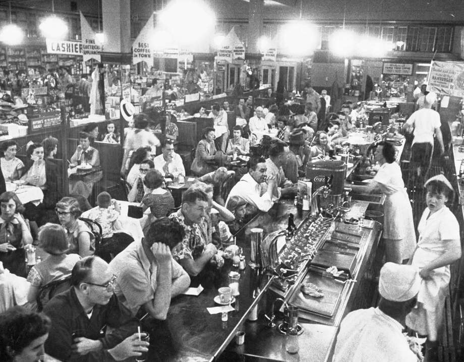 Walgreens, founded in Chicago in 1901, once was known for its busy lunch counter. Photo: Ralph Crane, Time & Life Pictures/Getty Image / Time Life Pictures