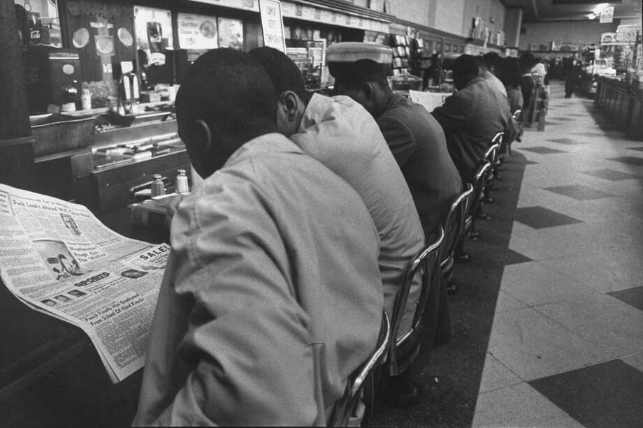 A series of sit-ins at the Woolworth's lunch counter in Greensboro, N.C., in the 1960s led to the chain reversing its policy of racial segregation in the Southeast. Photo: Donald Uhrbrock, Time & Life Pictures/Getty Image / Donald Uhrbrock