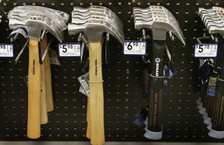 Some people want to ban assault weapons, others want to ban hammers and bats because they, too kill people. (OPEN) Photo: Scott Olson, Getty Images / 2013 Getty Images