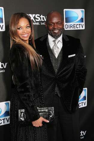 Patricia Southall and Emmitt Smith attend DIRECTV Super Saturday Night Featuring Special Guest Justin Timberlake & Co-Hosted By Mark Cuban's AXS TV on February 2, 2013 in New Orleans, Louisiana. Photo: Neilson Barnard, Getty Images For DirecTV / 2013 Getty Images