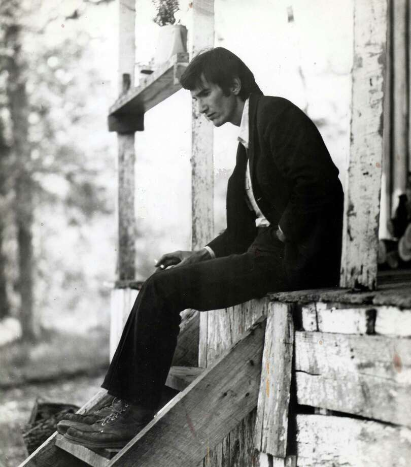 Townes Van Zandt in BE HERE TO LOVE ME, a Palm Pictures release 2005.  Photo courtesy of Jeanene Van Zandt. Photo courtesy Wood Newton  emailed photo / handout email