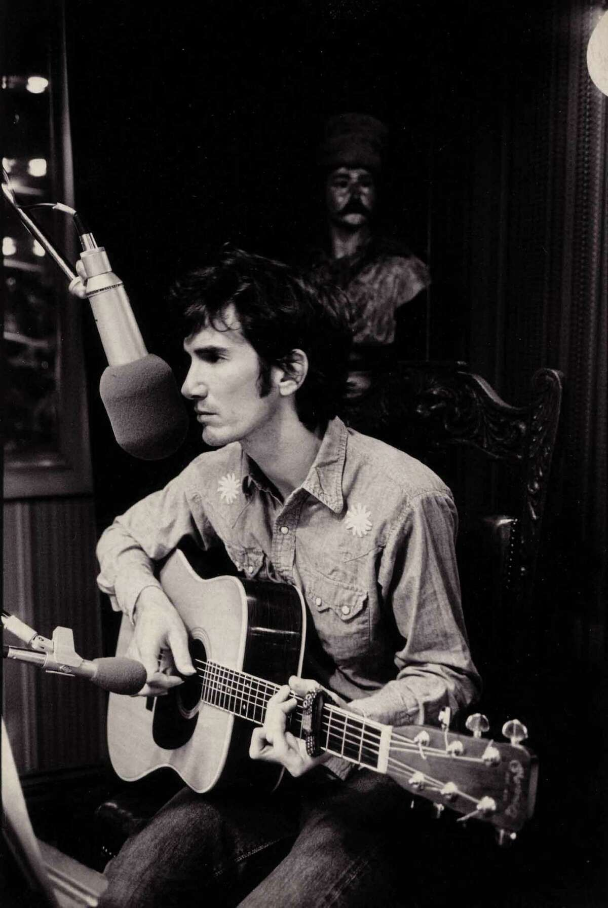 Townes Van Zandt, in BE HERE TO LOVE ME: A FILM ABOUT TOWNES VAN ZANDT, a Palm Pictures release 2005. Photo courtesy of Jeanene Van Zandt. emailed photo