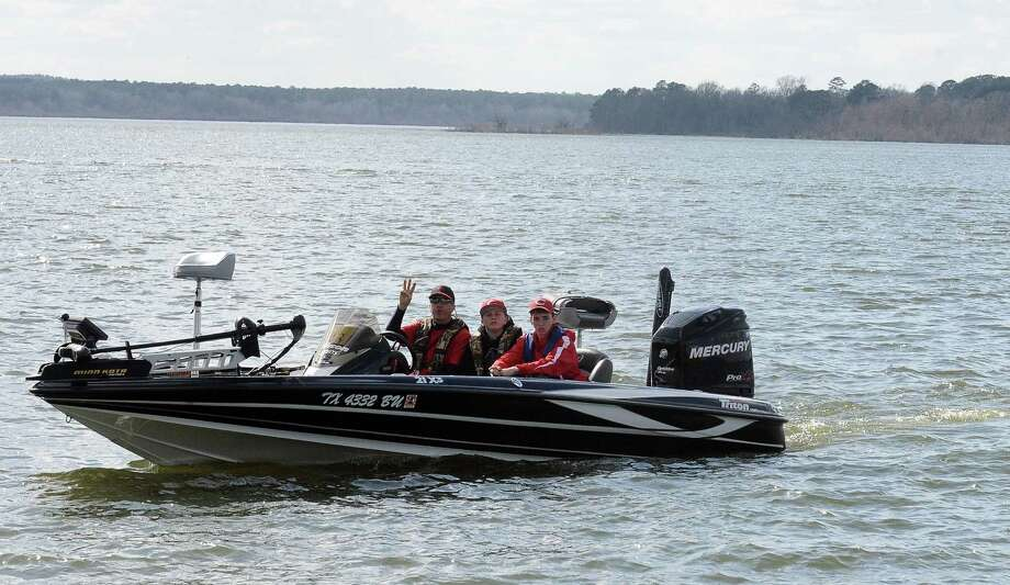 Forty eight different boats made up of 12 different high schools participated in the Premier Yamaha's Lumberton High School Open on Saturday, February 2, 2013, at Lake Sam Rayburn. Photo taken: Randy Edwards/The Enterprise