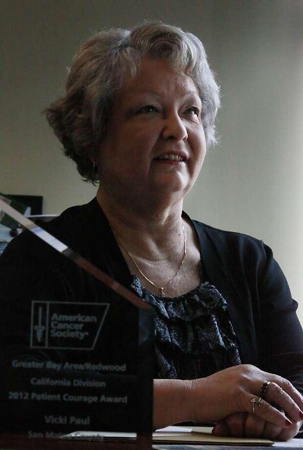 Vicki Paul, a licensed vocational nurse, chose to have a lumpectomy. Photo: Lea Suzuki, The Chronicle
