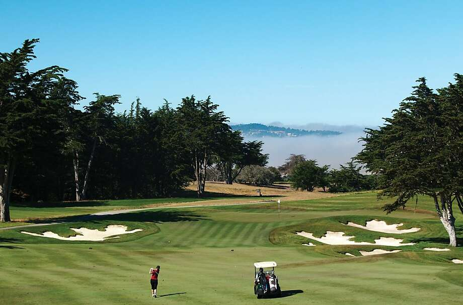 The Bayonet and Blackhorse (pictured) 18-hole golf courses in Seaside were originally designed by the commanding officers of Fort Ord. Photo: Seemonterey.com