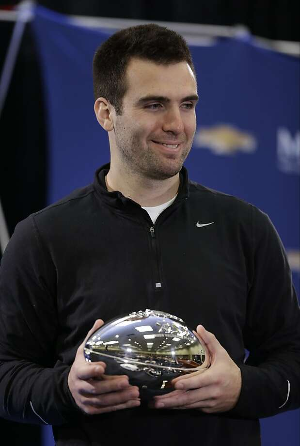 Joe Flacco Photo: Darron Cummings, Associated Press