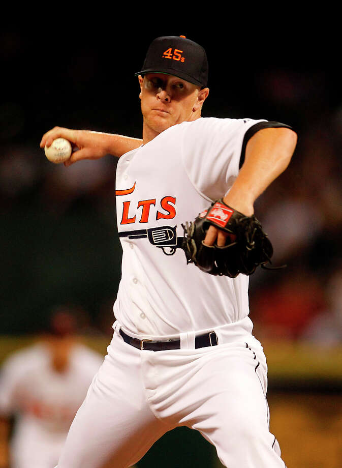 David CarpenterPosition:PNew team: Atlanta Braves Photo: Karen Warren / © 2012  Houston Chronicle
